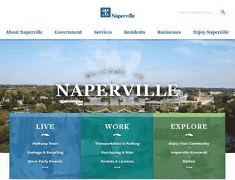 naperville.il.us screenshot