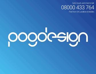 pogdesign.co.uk screenshot