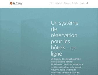 sirvoy.fr screenshot