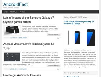 androidfact.com screenshot