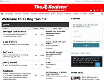 forums.theregister.co.uk screenshot