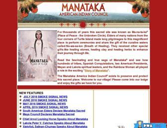 Thumbshot of Manataka.org