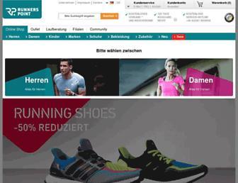 runnerspoint.de screenshot