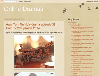 onlinedramas5.blogspot.com screenshot