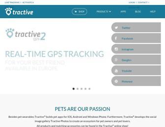 tractive.com screenshot