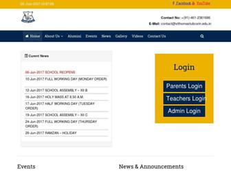 stthomastuticorin.edu.in screenshot