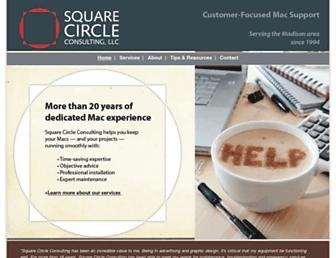 squarecircleconsulting.net screenshot