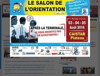 Thumbshot of Grandes-ecoles.net