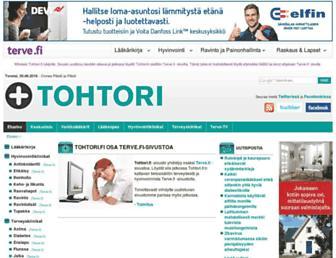 Thumbshot of Tohtori.fi