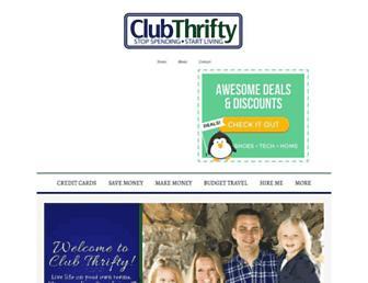 clubthrifty.com screenshot