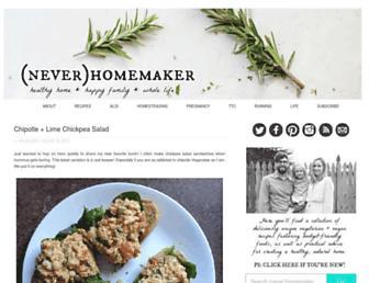 Thumbshot of Neverhomemaker.com