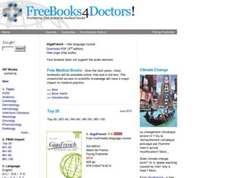 freebooks4doctors.com screenshot