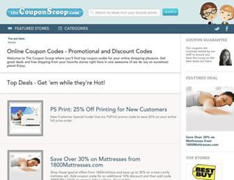 Thumbshot of Thecouponscoop.com