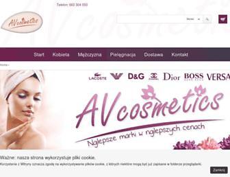 avcosmetics.pl screenshot