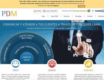 pdm.es screenshot