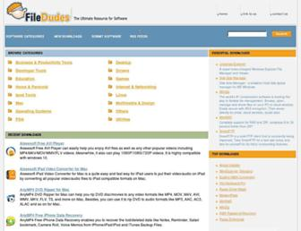 filedudes.com screenshot