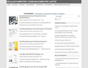 panduankomputer-laptop.blogspot.com screenshot