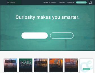 curiosity.com screenshot