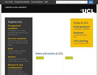 ucl.ac.uk screenshot