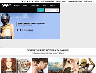 yuyutv.com screenshot