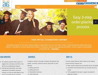 myacademicassist.com screenshot