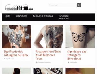 tatuagenstattoo.com.br screenshot