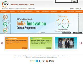 Thumbshot of Ficci.com