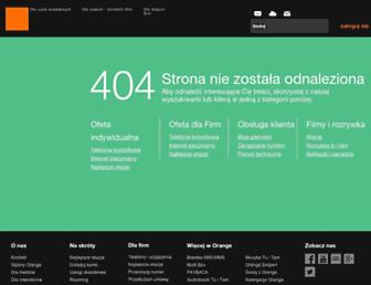 Main page screenshot of internetdsl.pl