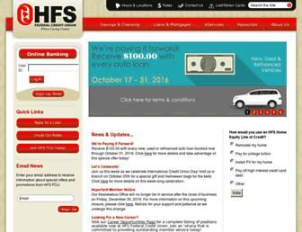 hfsfcu.org screenshot