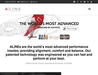 aline.com screenshot