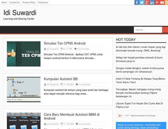 idisuwardi.blogspot.com screenshot