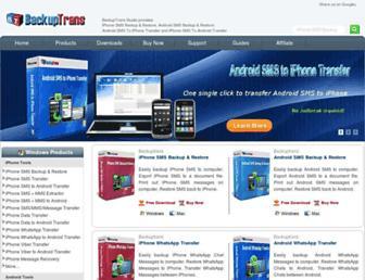backuptrans.com screenshot