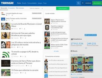 m.taringa.net screenshot