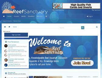 reefsanctuary.com screenshot