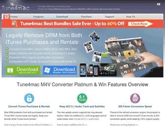 tune4mac.com screenshot