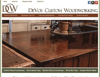 devoswoodworking.com screenshot