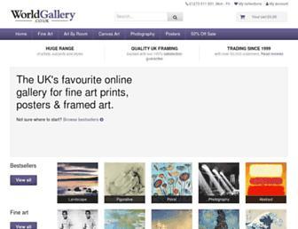 Thumbshot of Worldgallery.co.uk