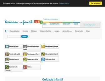 cuidadoinfantil.net screenshot