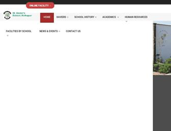 stxavierskop.com screenshot