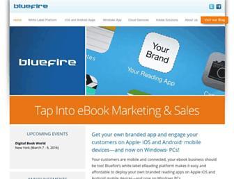 bluefirereader.com screenshot