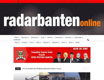 radarbanten.co.id screenshot