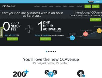Thumbshot of Ccavenue.com