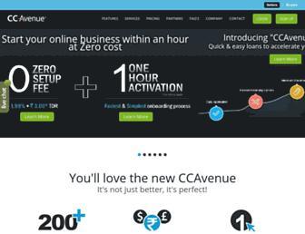 Thumbshot of Ccavenue.com
