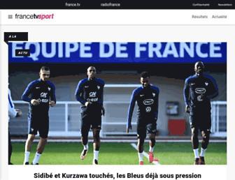 sport.francetvinfo.fr screenshot