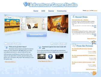 adventuregamestudio.co.uk screenshot