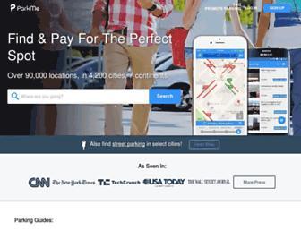 parkme.com screenshot
