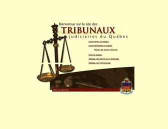 tribunaux.qc.ca screenshot