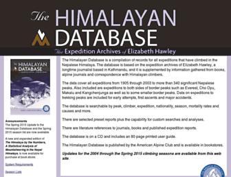 Thumbshot of Himalayandatabase.com