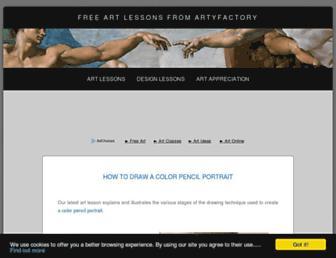 Thumbshot of Artyfactory.com