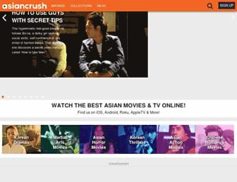 asiancrush.com screenshot